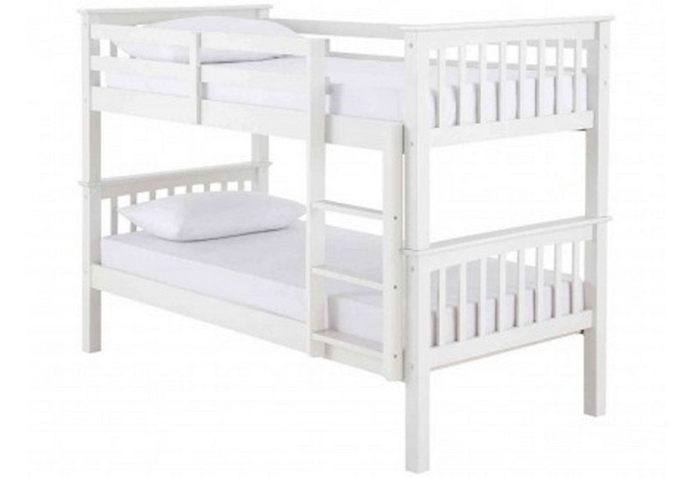 Artisan Bed Company Artisan New Beech 3ft Bunk Bed Without Drawers