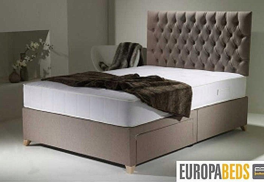 Europa Beds Europa Overture 4ft6 135cm X 190cm Double Divan Bed