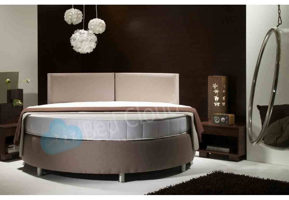 Lotus 6ft6 200cm Diameter Round Bed