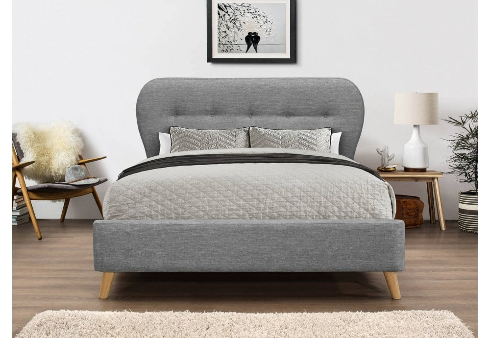 Flair Furnishings Ashley Fabric Bed Frame Beds From Beds 4 Less Uk
