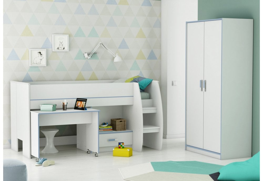 Flair Furnishings Switch Mid Sleeper Bunk Beds From Beds 4 Less Uk