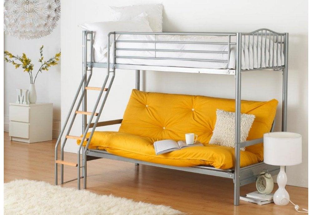 Excellent Hyder Alaska Bunk Bed With Futon Mattress Machost Co Dining Chair Design Ideas Machostcouk