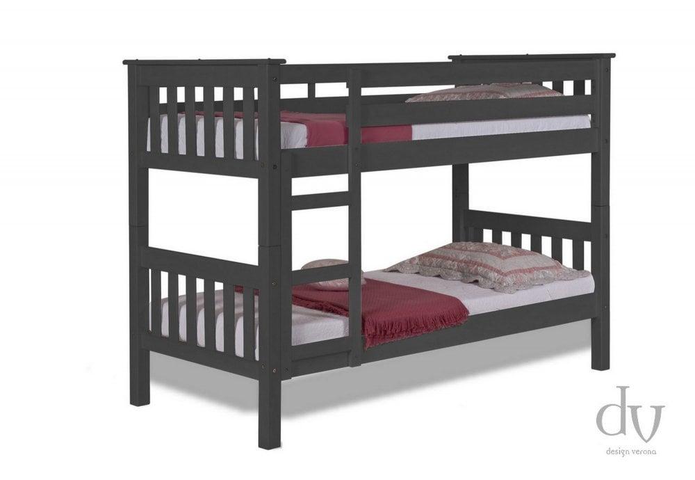 Verona Design Verona Barcelona Short Bunk Bed 3ft Graphite Bunk